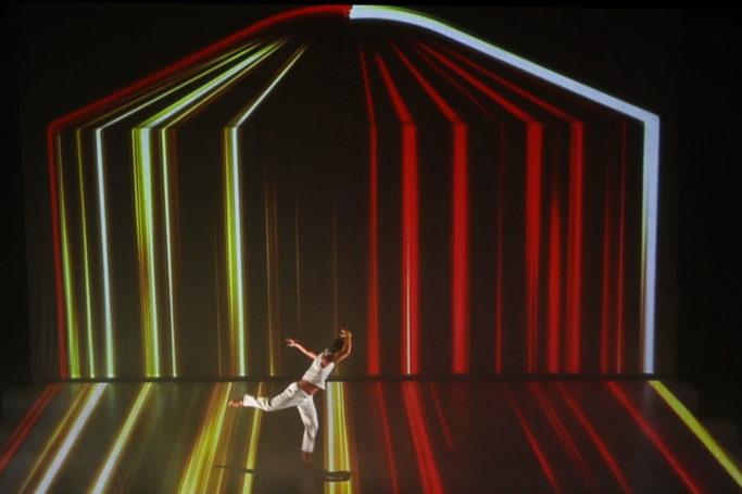 danse digitale mapping