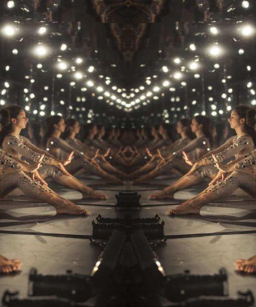 lionel hun miroir infini