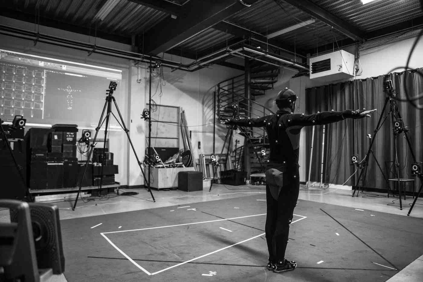 motion capture human