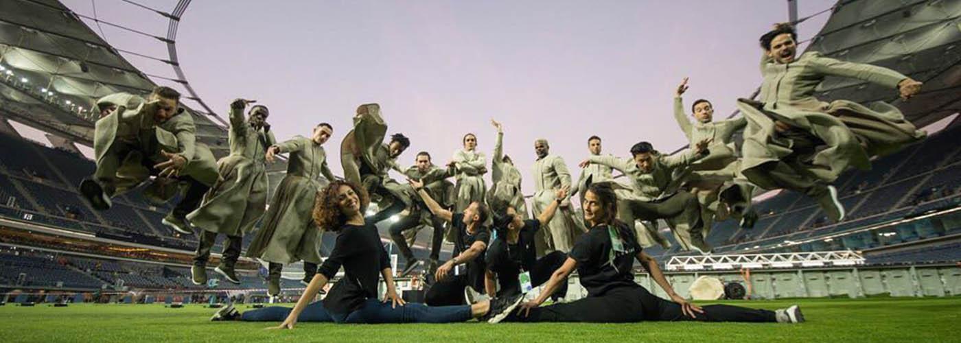stadium dancers