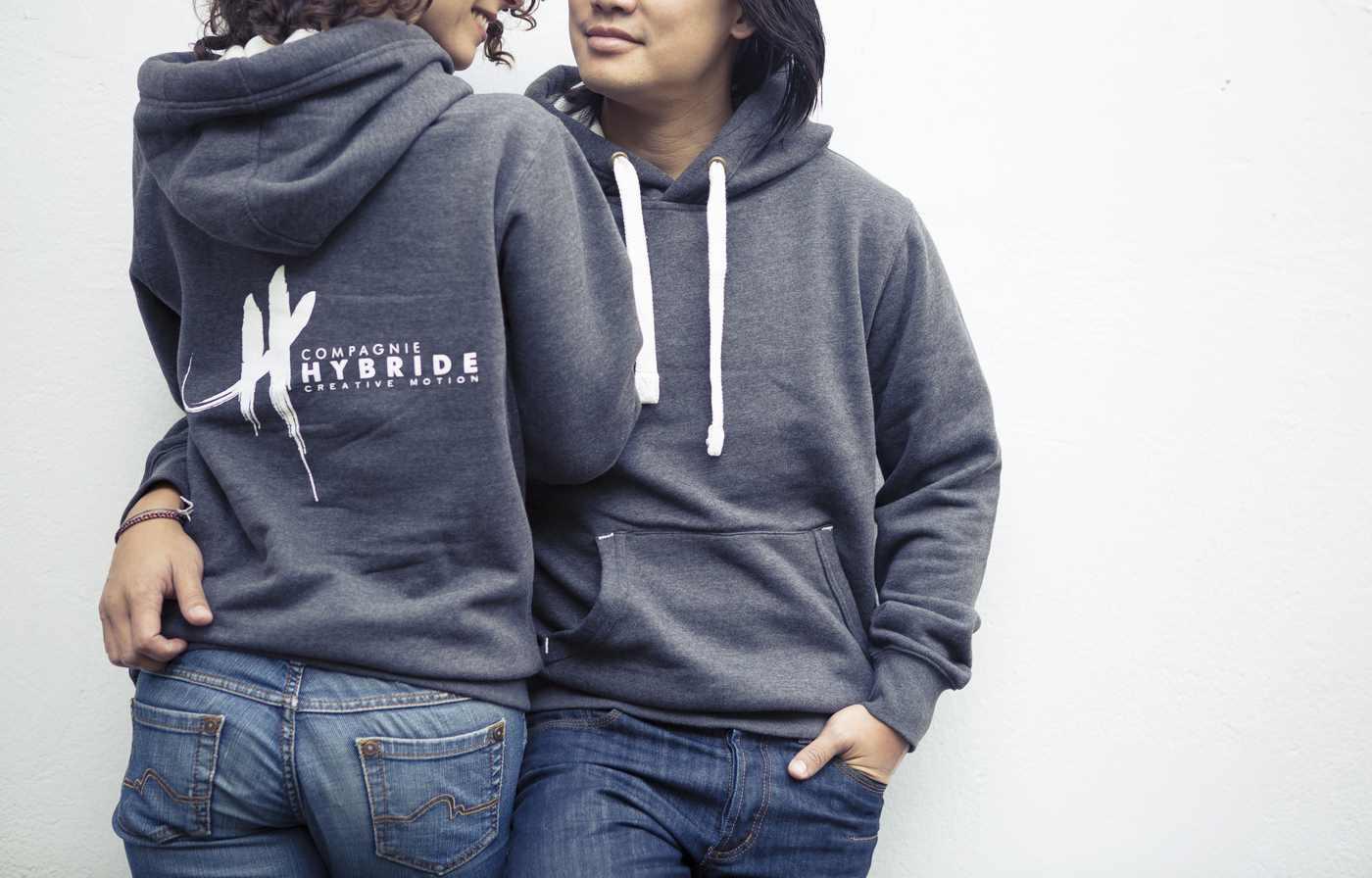 hybride hoodie