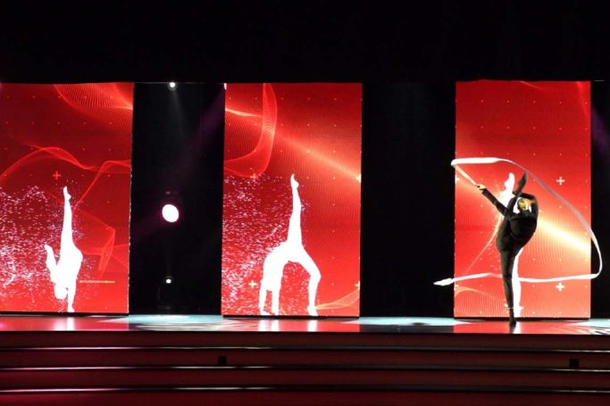 anoc jeux olympiques awards compagnie hybride gymanste evenement